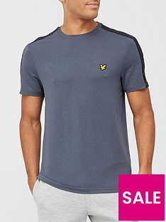 lyle-scott-fitness-lyle-scott-tape-stretch-tee