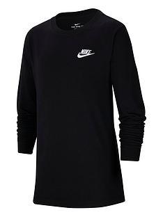 nike-older-boys-futura-t-shirt-black-white