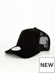 new-era-diamond-era-la-dodgers-trucker-cap-black
