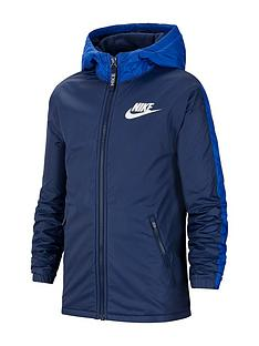 nike-older-fleece-linednbspjacket-navy
