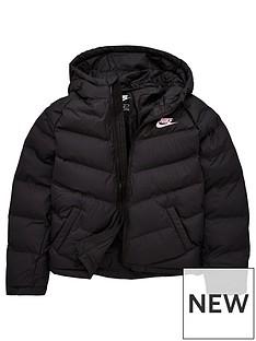 nike-older-childrens-filled-jacket-black