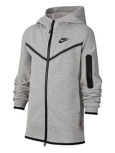 nike-older-boys-tech-fleece-full-zip-hoodie-grey-black