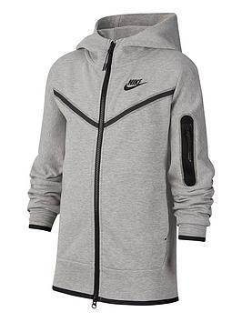 nike-older-boys-tech-fleece-full-zip-hoodie-grey-black
