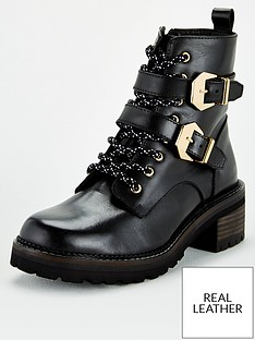 v-by-very-leather-lace-up-boots-with-buckle-straps-black