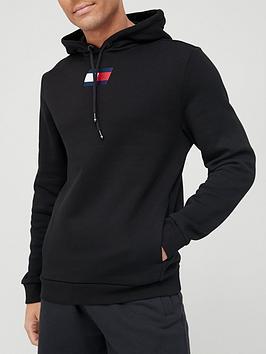 tommy-sport-flag-fleece-hoodie