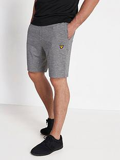 lyle-scott-fitness-superwick-shorts-grey-marl