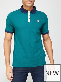 fila-bb1-polo-greennavy