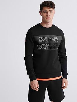 superdry-gymtech-graphic-crew-neck-sweat-top-black