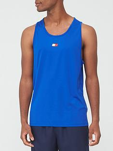 tommy-sport-training-vest-colbalt