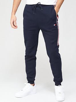 tommy-sport-cuffed-fleece-pants-navy