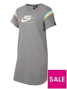 nike-older-girls-heritage-short-sleeve-dress-grey-white