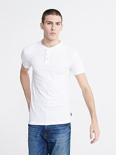 superdry-heritage-short-sleeve-grandad-top-white