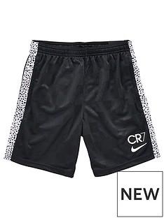 nike-youth-boysnbspcr7-dry-short-black