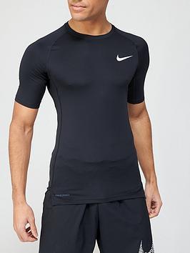 nike-pro-compression-short-sleeve-top-black