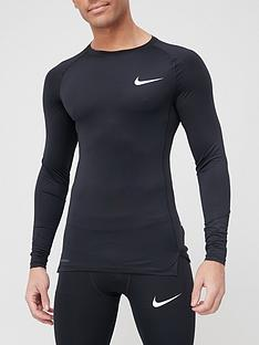 nike-pro-compression-long-sleeve-top-black