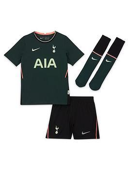 Nike Childrens Tottenham 20/21 Away Little Kids Kit - Green