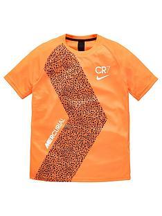 nike-youth-cr7-short-sleeved-dry-t-shirt-orange