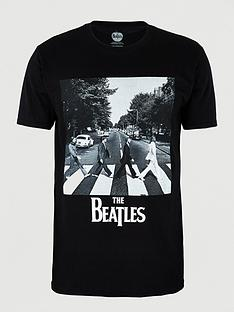 beatles-abbey-road-short-sleevesnbspt-shirt-black