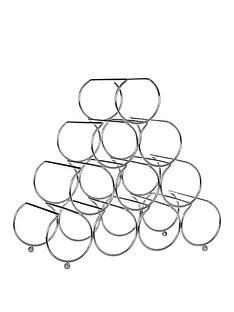 premier-housewares-metal-wire-10-bottle-pyramid-wine-rack