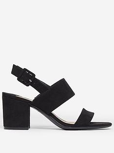 dorothy-perkins-wide-fit-sade-2-strap-heeled-sandal-black