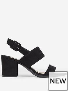 dorothy-perkins-wide-fit-sade-2-strap-heeled-sandal-black