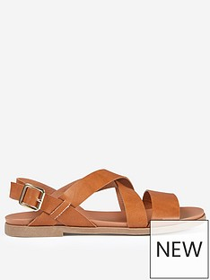 dorothy-perkins-dorothy-perkins-wide-fit-sandals-tan