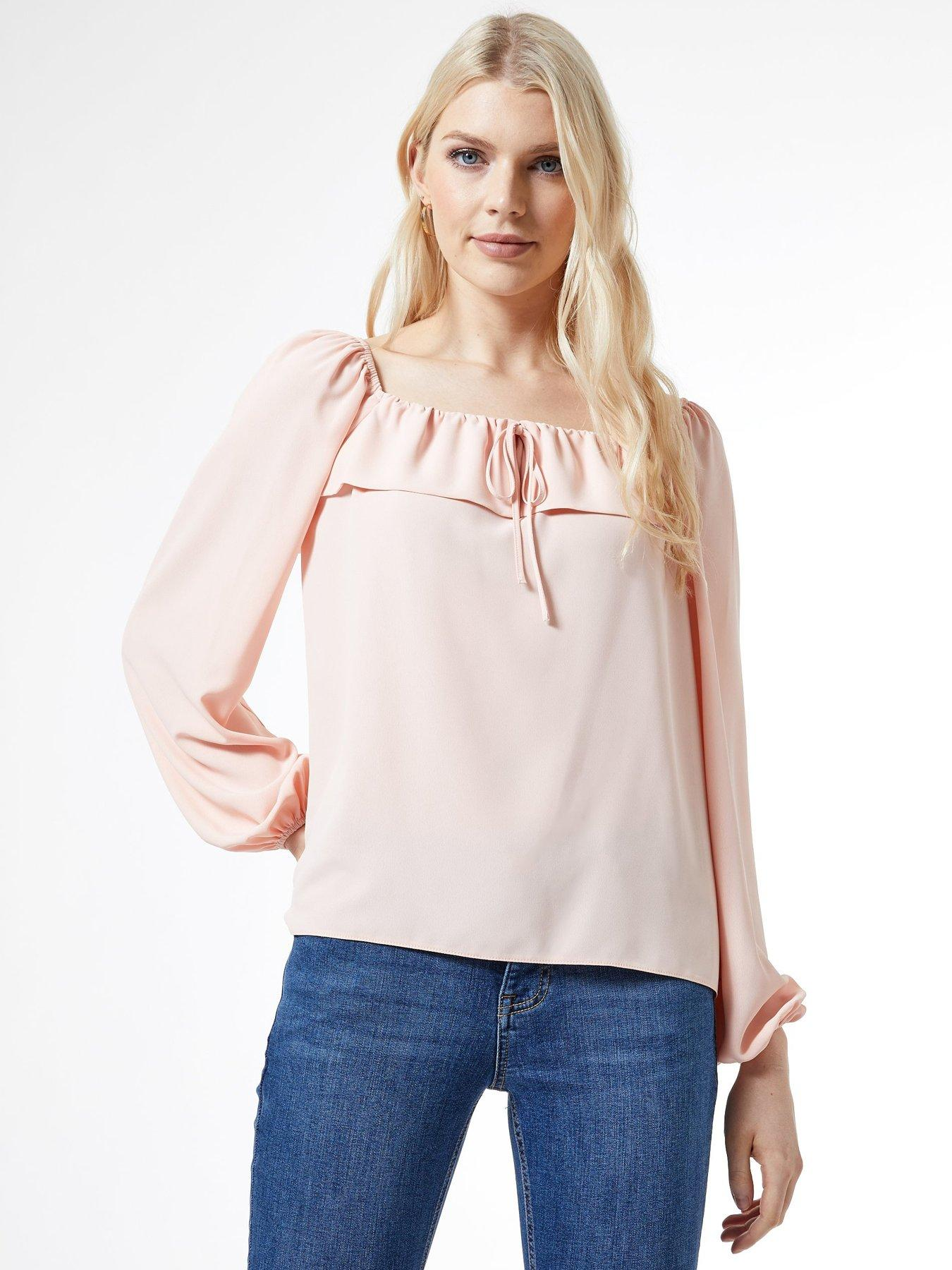 Personalized Master Fishing Cotton Girl Toddler Long Sleeve Ruffle Shirt Top