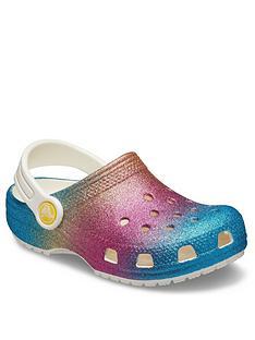 crocs-girls-classic-ombre-glitter-clog-slip-on-multi-glitter