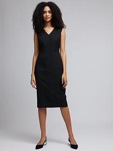 dorothy-perkins-sweetheart-dress-black
