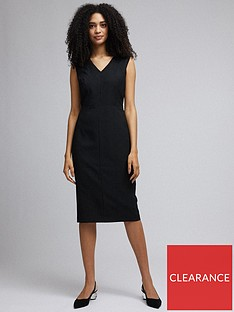dorothy-perkins-sweetheart-dress-black