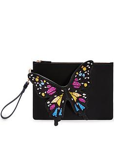 sophia-webster-flossy-embellished-pouchette-black