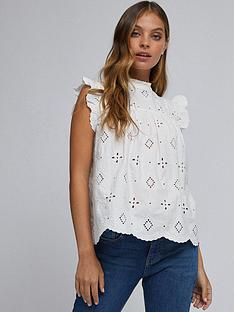 dorothy-perkins-petite-sustainable-broderie-shell-top-ivory