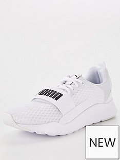 puma-wired-trainers-white