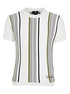 river-island-boys-stripe-prolific-knitted-t-shirt-white