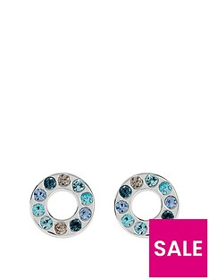 radley-blue-rainbow-stud-earrings