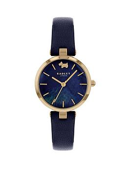 radley-blue-mother-of-pearl-and-and-rose-gold-detail-dial-blue-leather-strap-ladies-watch
