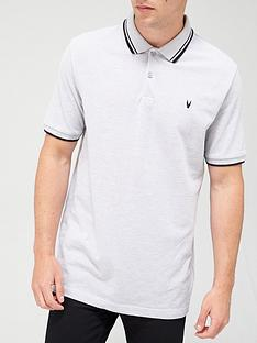 very-man-essentials-pique-polo-grey