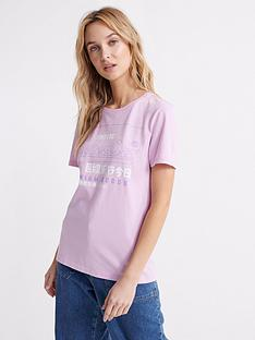 superdry-organic-cotton-premium-goods-label-outline-t-shirt-purple