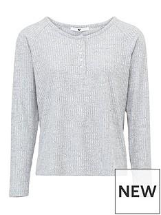 v-by-very-mix-amp-match-henley-rib-long-sleeve-pyjama-top-grey-marl
