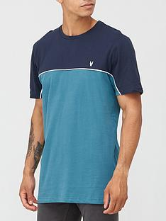 very-man-colour-block-piped-t-shirt-navy
