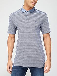 very-man-texture-stripe-collar-polo-shirtnbsp-chambray