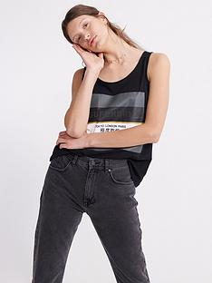 superdry-stripe-block-classic-vest-top-black