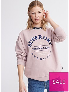 superdry-applique-serif-crew-sweatshirt-purple