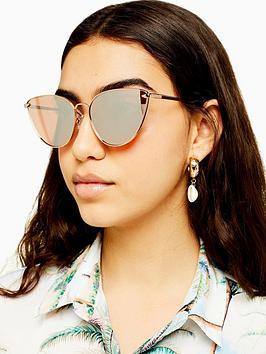 topshop-phoenix-metal-cateye-sunglasses-gold