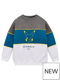 pokemon-boys-colourblock-sweatshirt-multi
