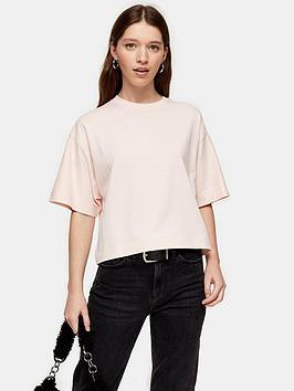 topshop-panel-boxy-t--shirt-pink