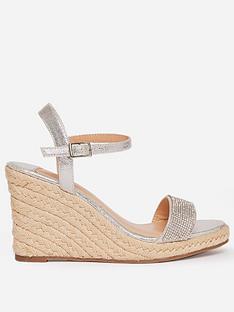 dorothy-perkins-wide-fit-gry-raaraa-embellished-wedged-shoe-grey