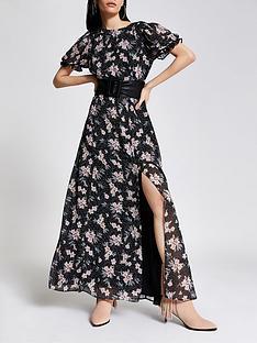 river-island-floral-chiffon-maxi-dress-black