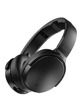 skullcandy venue wireless over-ear headphones with active noise cancellation - black