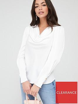 river-island-cowl-neck-blouse-white